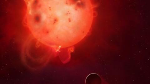 """La """"jumelle de la Terre"""" dévastée par les radiations de son étoile ?"""