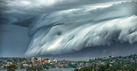 Un super « Nuage de Tsunami » submerge l'Australie