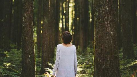 Les personnes qui passent du temps dans la nature sont plus heureux