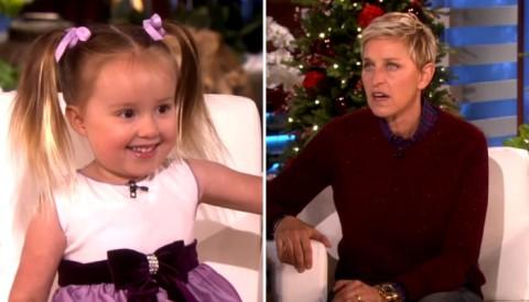 Elle a l'air d'être une petite fille innocente de 3 ans… Mais lorsqu'elle commence à parler de chimie, tout s'arrête.
