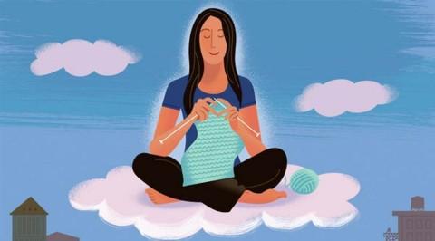 Tricoter est bon pour la santé mentale et physique… et la garde-robe