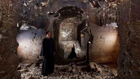 Le tombeau mythique d'Osiris, dieu des enfers, a été découvert en Egypte