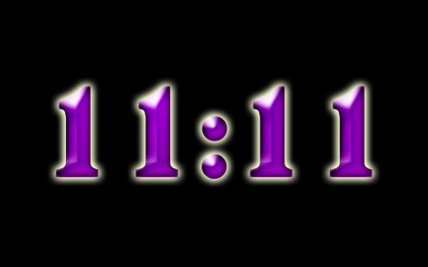 Vous voyez constamment 11h11? Voici ce que cela signifie ..