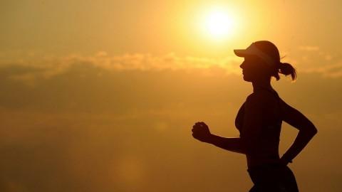Courir est excellent pour le moral
