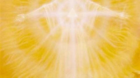 Message de Maitre Adama la Flamme de Résurrection (Or)