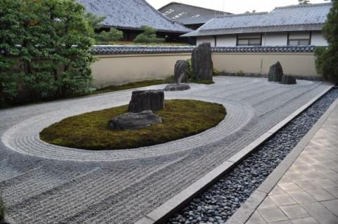 Zenitude et plénitude, les jardins japonais