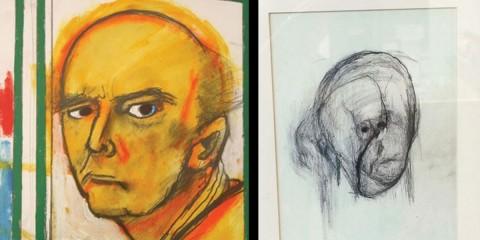 Un artiste souffrant d'Alzheimer a peint des autoportraits pendant 5 ans
