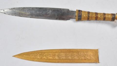 Le poignard de Toutankhamon a été forgé dans un métal extraterrestre
