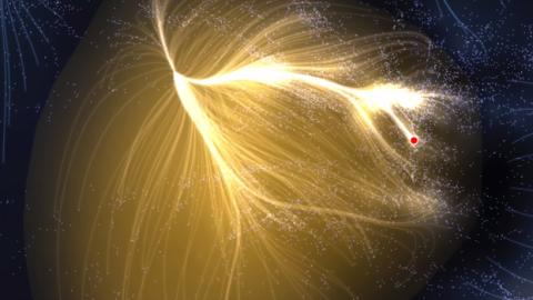 Des scientifiques ont recensé 8000 galaxies et ont fait une incroyable découverte