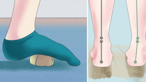 Soulagez vos douleurs aux pieds en quelques minutes grâce à ces 5 exercices très efficaces !