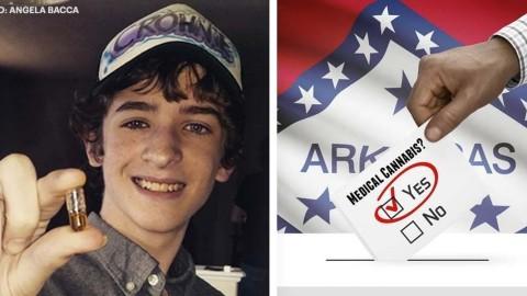 Ce jeune de 16 ans clôt le débat sur le cannabis – comme jamais auparavant