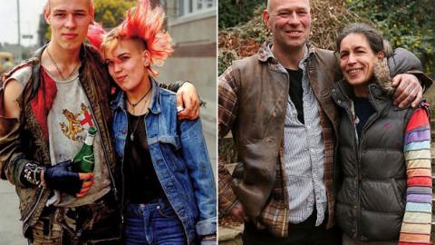 Un photographe reconstitue des images remarquables en prenant en photo les mêmes personnes qu'il avait photographiées dans sa ville natale il y a 40 ans