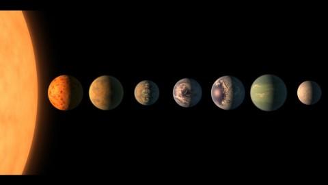 Expolanètes: 7 cousines de la Terre découvertes autour d'une même étoile
