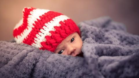 Ce gif montre ce que les bébés voient au cours de leur première année de vie