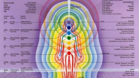 Les 7 chakras et les 7 corps subtils de l'homme