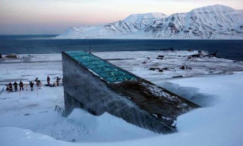 Le permafrost entourant la banque mondiale de graines a fondu à cause du changement climatique