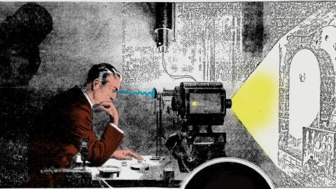 Surement le projet le plus fou de Nikola Tesla : le projecteur de pensée