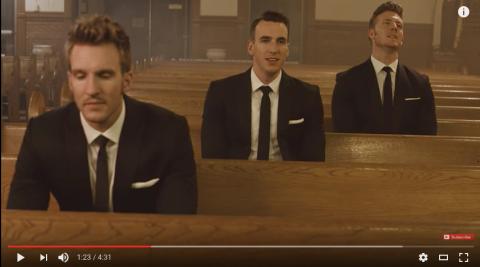 Le trio Gentri réinterprète de façon très touchante «Let It Be» des Beatles