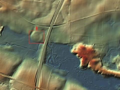 Une forteresse Viking de 1000 ans au Danemark découverte grâce au Lidar