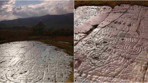 Grâce à la numérisation 3D, des messages datant de 5000 ans gravés dans des roches en Écosse pourront bientôt être dévoilés