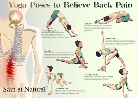 6 façons de soulager naturellement les douleurs dorsales grâce aux massages et au yoga