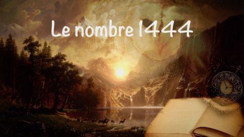 Le nombre 1444 est un message rempli d'énergies positives envoyé par les anges et les archanges