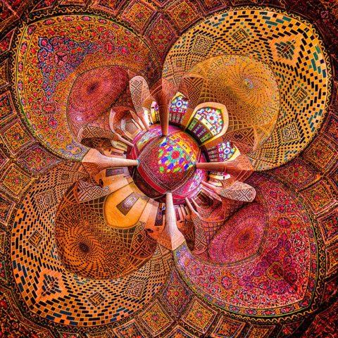 20 plafonds de mosquées hypnotisants qui semblent être influencés par le psychédélisme