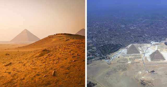 16 sites historiques photographiés avec leur véritable environnement
