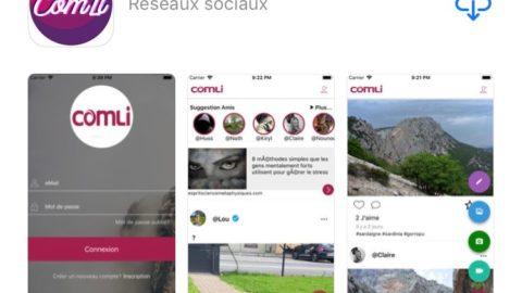 Découvrez Comli, le premier réseau social 100% Français