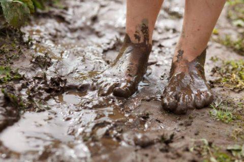 La boue n'est pas nécessairement sale! Voici ses avantages