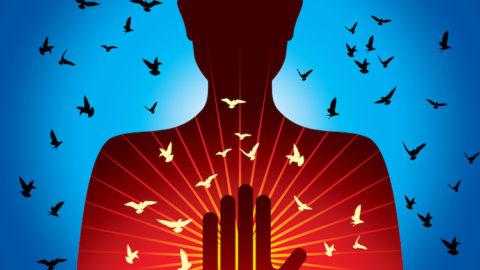 La connexion spirituelle entre deux personnes