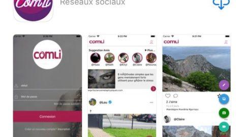 Voici Comli, le tout premier réseau social gratuit 100% Français